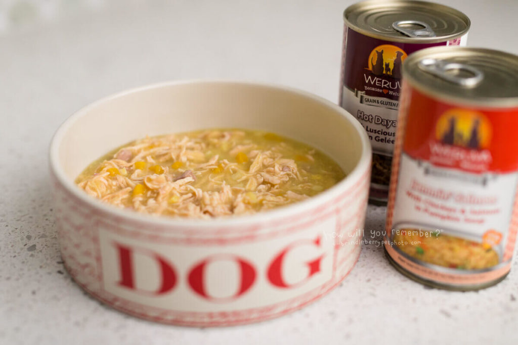 WERUVA CANNED DOG FOOD