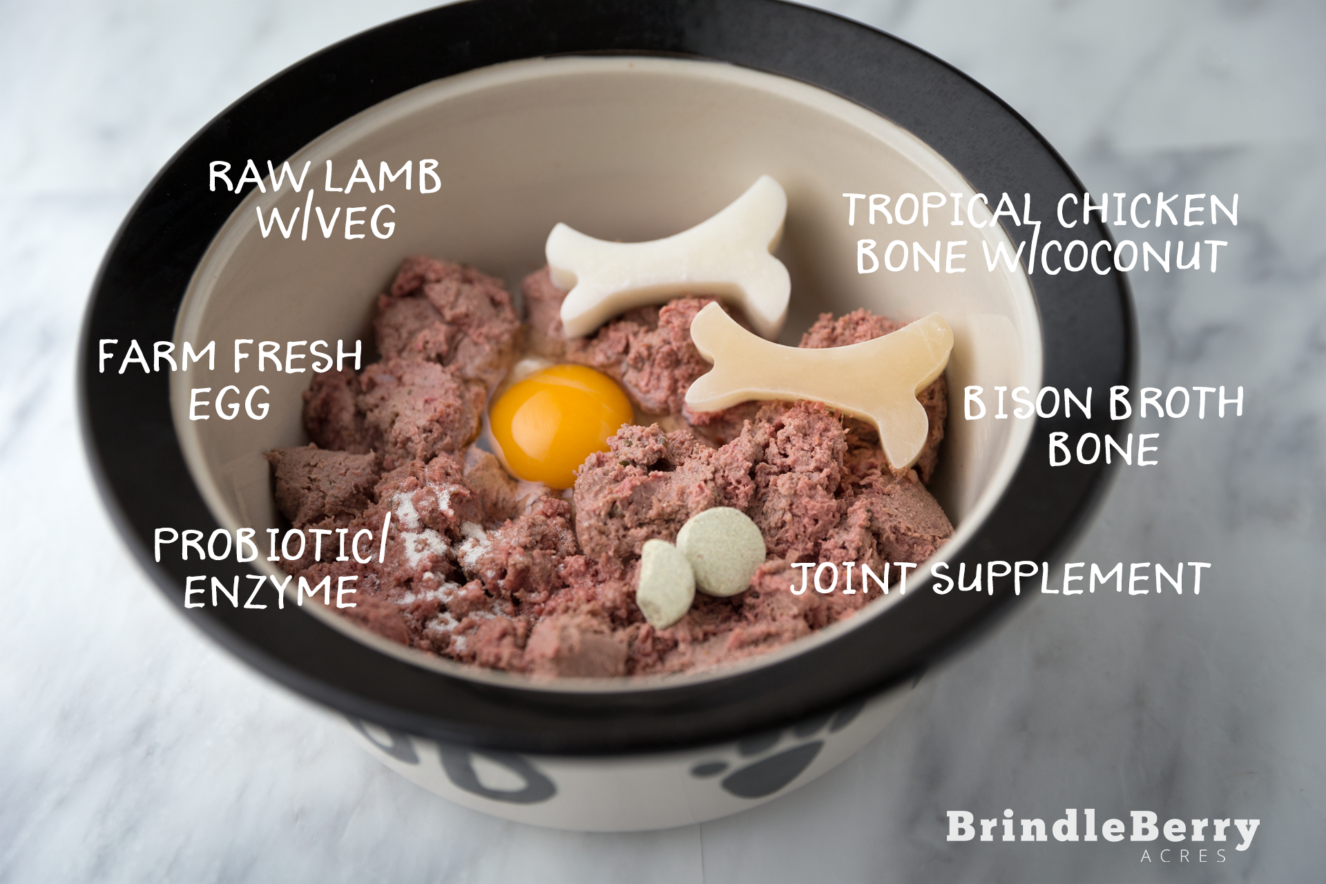 RAW LAMB DOG FOOD