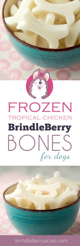 TROPICAL CHICKEN BONES FOR DOGS