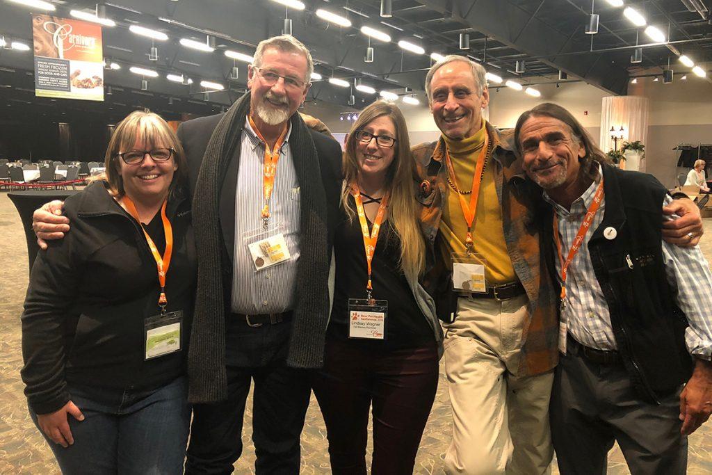 Me, Dr. Billinghurst, Lindsay, Dr. Goldstein and Dr. Silver